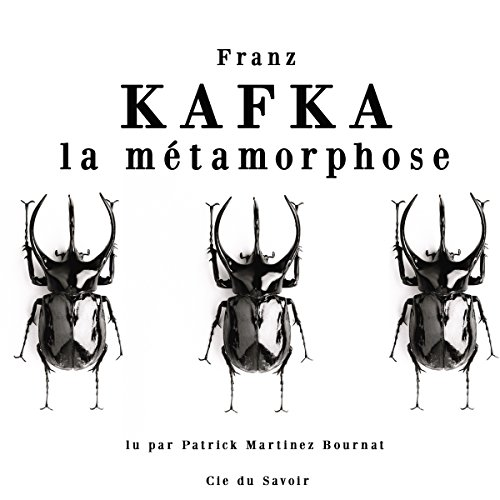 La métamorphose audiobook cover art