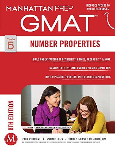 GMAT Number Properties (Manhattan Prep GMAT Strategy Guides Book 5) (English Edition)
