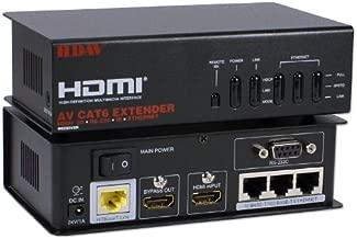 QVS HD4-C6E HDMI 4-in-1 CAT6 Extender