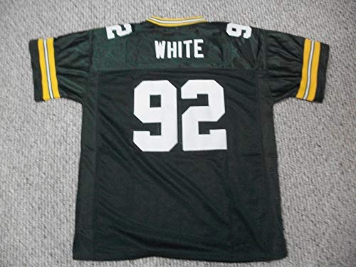 Unsigned Reggie White #92 Green Bay Custom Stitched Green Football Jersey Various Sizes New No Brands/Logos Size Small