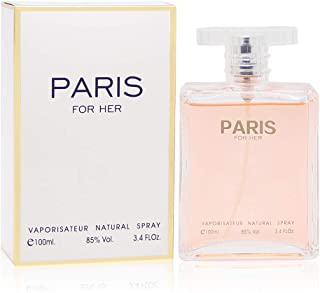 PARIS FOR GIRL,Our Version of CHANEL COCO MADEMOISELLE, Eau de Parfum Spray for Women, Perfect Gift, Elegant, Night time & Casual Use, for all Skin Types, 3.4 Fl Oz