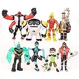 Conjunto de 9 Ben 10: Supremacía Alienígena Juguetes de Figuras de acción Colecciones de muñecas...