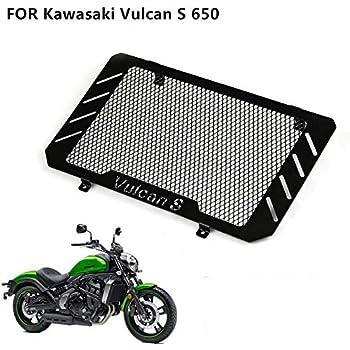 Grille de Protection en acier inoxydable de moto adapt/ée pour Z650 Z 650 Z-650 2017-2020 Couvercle de protection de radiateur