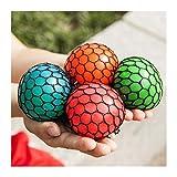 LINMAN 1pc 4.5cm Funny Anti Stress Ball Novetly Squeeze Ball Muñeca Muñeca Ejercicio Antistress Slime Ball Toy Decompression Toy