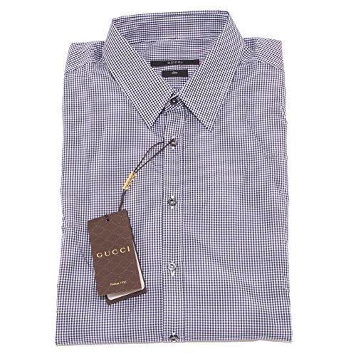 Gucci 4792O Camicia Manica Lunga Slim camicie Uomo Shirt Men [44 (17 1/2)]