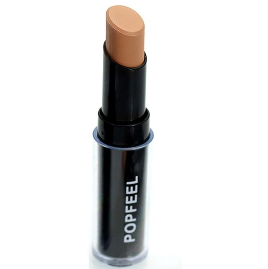 真っ逆さまスケジュール現れる[SakuraBest] Popfeel Natrual Face Lips Concealer Highlight Contour Pen Stick