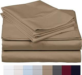 800 Thread Count 100% Long Staple Soft Egyptian Cotton SheetSet, 4 Piece Set, KING SHEETS,upto 17