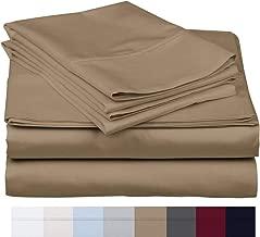 800 Thread Count 100% Long Staple Soft Egyptian Cotton SheetSet, 4 Piece Set, QUEEN SHEETS,upto 17