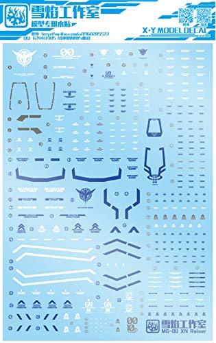 Decals Detail Up Water Decal Fits Bandai MG 1/100 00 00 XN Raiser 00R Gundam