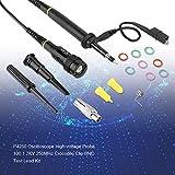 P4250 1 2KV 250MHz Sonda Osciloscópica de Alto Voltaje para Osciloscopio de Cabeza BNC 100 Crocodile Clip BNC Kit de Prueba de Plomo