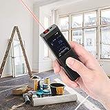 Omabeta Práctico medidor de Distancia USB a Prueba de Polvo a Prueba de Agua para construcción