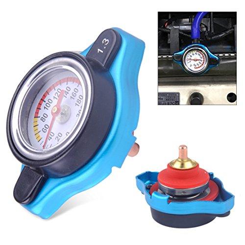 beler Universal Auto Thermo Thermostat Heizkörper Kappe Abdeckung 1.3 Bar Wasser Temperatur Messgerät
