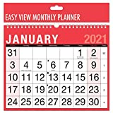 Tallon 3802 - 2019 A4 Planificador mensual Easy View Espiral para colgar en la pared