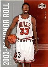 2003-04 Upper Deck Honor Roll #8 Scottie Pippen NBA Basketball Trading Card