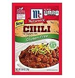 McCormick mezcla de condimento de chile sin gluten (paquete de 4) paquetes de 1 oz