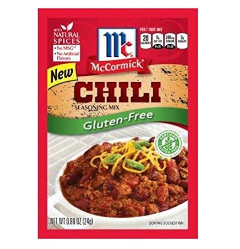 McCormick Gluten Free Chili Seasoning Mix (4 Pack) 1 oz Packets