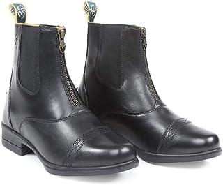 Shires Moretta adultos Rosetta cremallera Paddock botas–negro