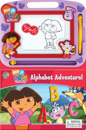 Price comparison product image Magnetic Drawing Kit + 22 Page Storybook (Dora)