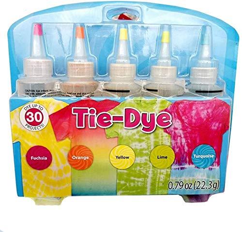 Jinghuash Tinte Ropa,TinteRopa Tie Dye,Tintes para Ropa,Tinte iberia,Tye Die Kit,5