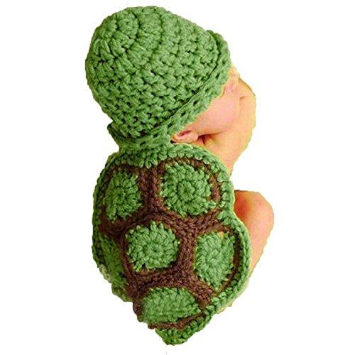 Baby Häkelkostüm Strick Kostüm Fotoshooting Baby Fotos Schildkröte