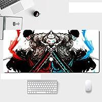 XXLマウスパッド900x 400 mm-スピードゲーミングマウスパッド-コンピューターマウスパッド-大型テーブルベース-デザイン:ワンピース-A_700X300X3mm