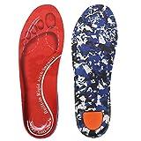 Orthopädische Einlegesohlen Für Damen & Herren High Arch Foot Support Medizinische Funktionelle schuheinlagen Insert für Plattfüße, Plantar Fasciitis, Fußschmerz (EU women 39/ EU men 42, Rot)