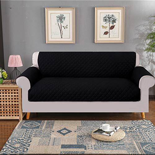 ele ELEOPTION Sofa Abdeckung,Sofa Überwürfe, Reversible Anti-Rutsch Sofabezüge, Wasserdicht...