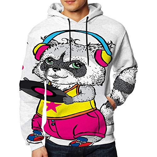 Raccoon Bright Clothes Headphone...