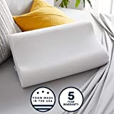 Sleep Innovations Contour Memory Foam Standard Size Pillow, Cervical...