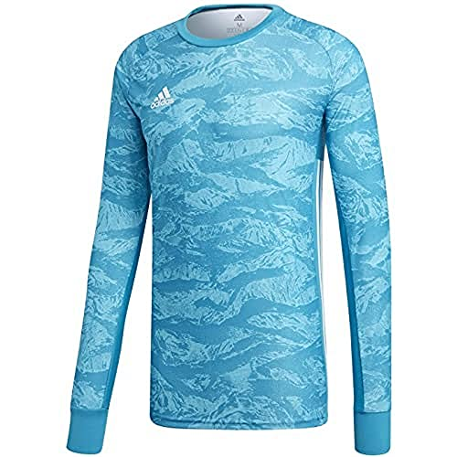 adidas Herren ADIPRO 19 GK Long Sleeved T-Shirt, Bold Aqua, L
