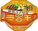 Nissin - Raoh, Japanese Instant Ramen Noodles, Miso Soup, 4.3oz X 6 Bowls (for 6 Servings)[Japan Import]