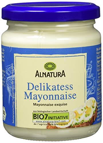Alnatura Bio Delikatess-Mayonnaise mit Ei, 6er Pack (6 x 250 ml)