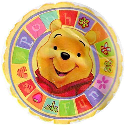 Pallone Palloncino in Mylar Winnie The Pooh 45 CM - Gonfiabile ad Aria o ad Elio