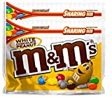 NEW M&M's White Chocolate Peanut Candies Limited edition- 9.6oz (2)