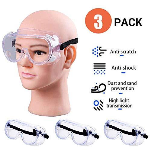 3 Pack Gafas de seguridad