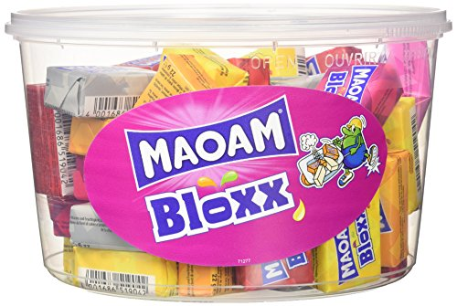 Maoam Runddose 5 Sorten, 3er Pack (3x 1.1 kg Dose)
