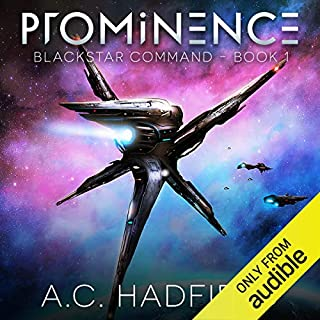 Prominence                   By:                                                                                                                                 A.C. Hadfield                               Narrated by:                                                                                                                                 Marc Vietor                      Length: 6 hrs and 50 mins     532 ratings     Overall 3.9