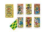 Dal Negro- Tarocco Bizzarro, di Franco Bruna Carte con Libretto, Multicolore, 40007...