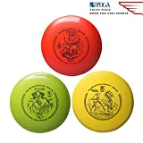 Yikun Discs Professional Disc Golf Set 3 in 1 Includes Driver,Mid-Range and Putter 165-176g Perfect Outdoor...