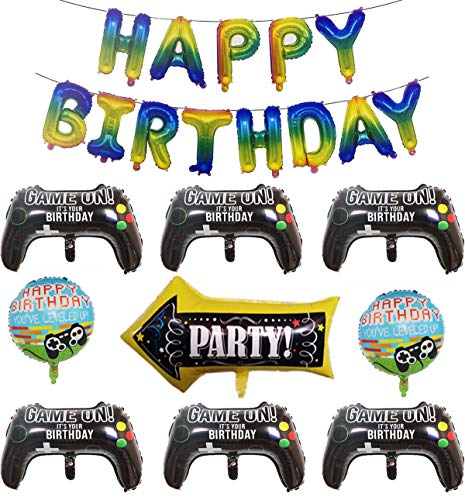 22 Pcs Video Game Party Balloons...