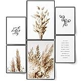 BLCKART Infinity Premium Floral Poster Set Stilvolle