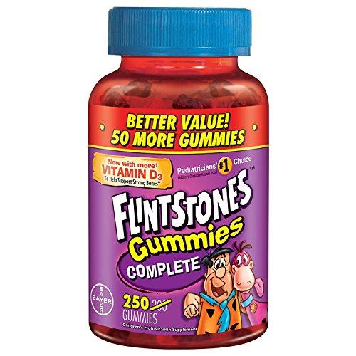 Flintstone's Gummies Multivitamin 250 Count