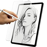 YMYWorld iPad Air 4 (2020) ペーパーライク 保護フィルム 【書き味向上】紙のような描き心地 ペン先摩耗低減 反射低減 アンチグレア 貼り付け失敗無料交換