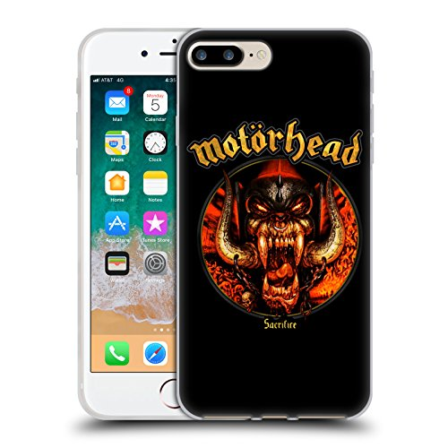 Head Case Designs Oficial Motorhead Sacrificio Portadas de Álbumes Carcasa de Gel de Silicona Compatible con Apple iPhone 7 Plus/iPhone 8 Plus