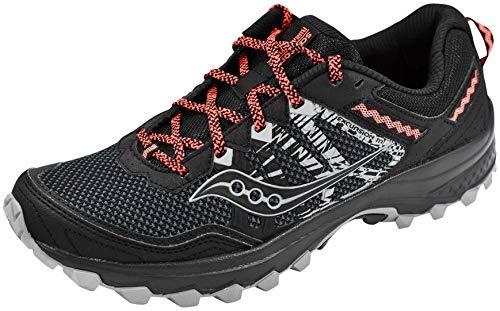Saucony Women's Grid Excursion TR12 Black/Orange Sneaker 8 M US