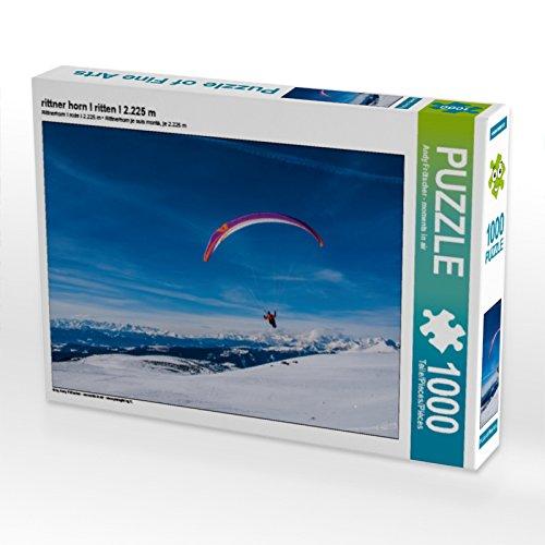 CALVENDO Puzzle rittner Horn I ritten I 2.225 m 1000 Teile Lege-Größe 64 x 48 cm Foto-Puzzle Bild von Moments in air