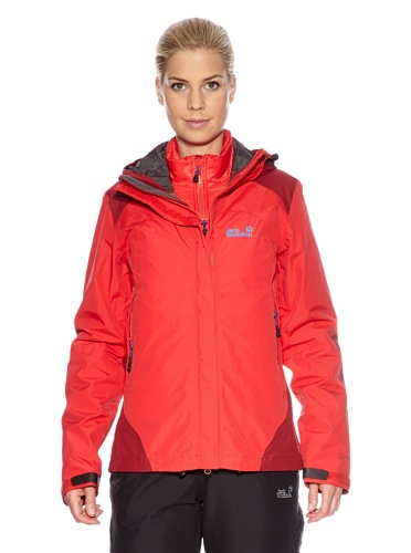 Jack Wolfskin Jacke Peregrine Jacket Clear Red XL