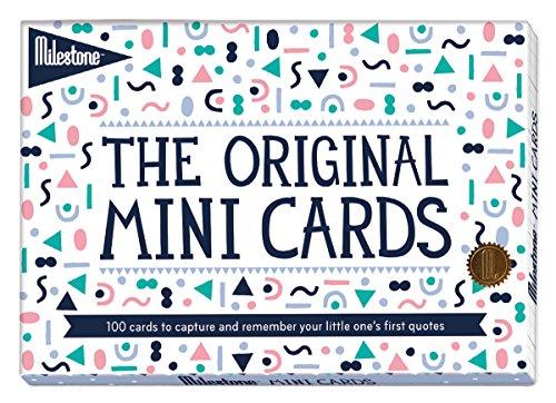 Milestone Mini-Notizkarten