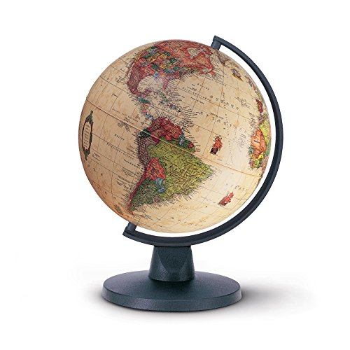 tecnodidattica 0316mia2it0nn0db–Globus Mini Antik, 16cm