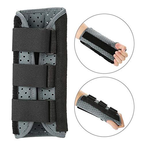 Handgelenkstütze mit Klettverschluss, Handgelenkschiene für Lindert Handgelenkschmerz, Karpaltunnel Handgelenkorthese zur Fixierung und Korrektur, Handgelenk Bandagen zur Hand Stabilisierung(L-Links)
